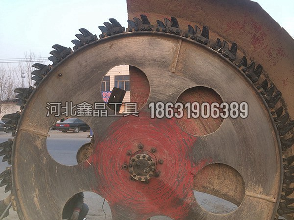 轮式铸钢大刀